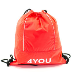 4You Sportbeutel Gym Bag Rot