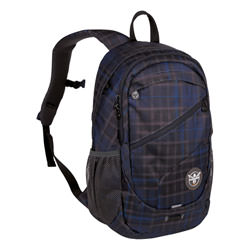Chiemsee Rucksack Techpack Two Check Black