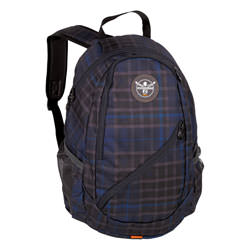 Chiemsee Rucksack Crystal Check Black