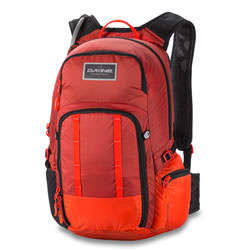 Dakine Rucksack AMP 18L with Reservoir Red Rocket Blaze