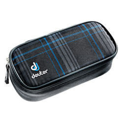 deuter Pencilcase Blueline Check