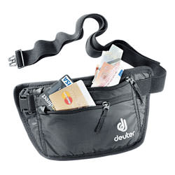 deuter Bauchtasche Security Money Belt I Black