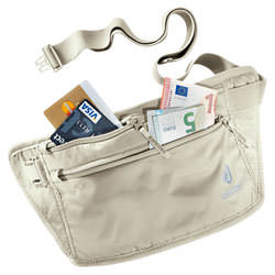deuter Bauchtasche Security Money Belt II Sand