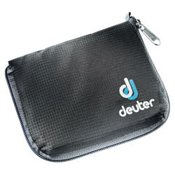 deuter Geldbörse Zip Wallet Black