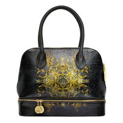 Gloeoeckler Handtasche M mit RV Luxury