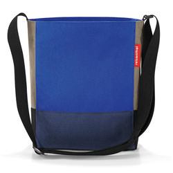 reisenthel Tasche shoulderbag S patchwork royal blue