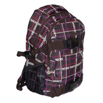 Chiemsee Rucksack Zeus Tweedy Black Coffee