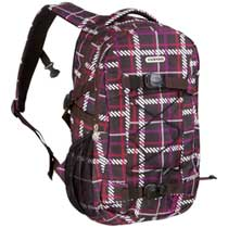 Chiemsee Rucksack Athene Tweedy Black Coffee