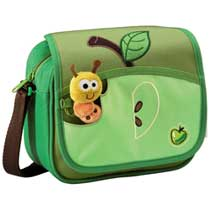 Step by Step Junior Kiga Tasche Gross Apfel