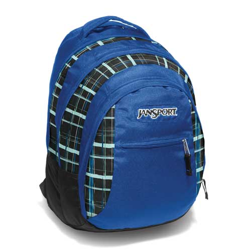 Jansport Beamer Navy Painted Plaid